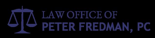 Peter Fredman Law Logo